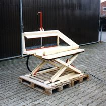 Scissor lift table / hydraulic / tilting