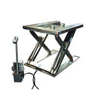 Scissor lift table / hydraulic / U-shape