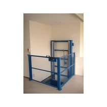 Column type lift / for pallets / automatic