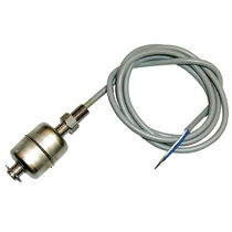 Magnetic float level switch / for liquids / reed switch / stainless steel
