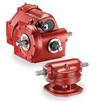 90° angle gearbox / cast iron / for agricultural machinery