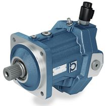 Axial piston hydraulic motor / bent-axis / variable-displacement