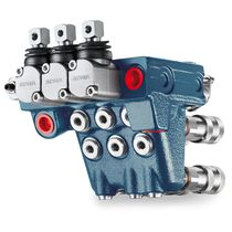Electro-hydraulic hydraulic directional control valve / monobloc