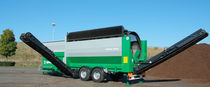 Mobile screening unit / drum / for bulk materials / for biological waste treatment