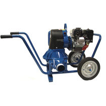 Slurry pump / for wastewater / electric / double-diaphragm