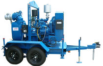 Effluent pump / electric / centrifugal / self-priming