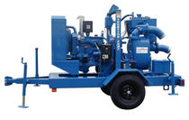 Slurry pump / electric / centrifugal / vacuum-assisted priming