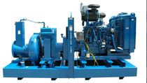 Wastewater pump / electric / centrifugal / vacuum-assisted priming