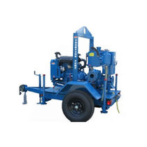 Vacuum-assisted priming pump / centrifugal / recirculation / dewatering