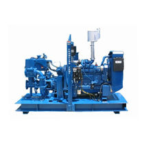 Vacuum-assisted priming pump / centrifugal / irrigation / recirculation