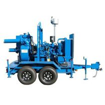 Vacuum-assisted priming pump / centrifugal / dewatering / drainage