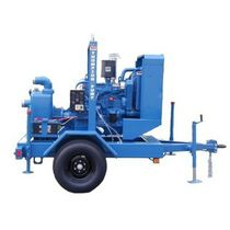 Self-priming pump / centrifugal / dewatering / sewage