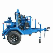 Self-priming pump / centrifugal / handling / dewatering