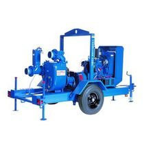 Self-priming engine-driven pump / centrifugal / drainage / irrigation