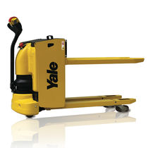 Electric pallet truck / walk-behind / loading / unloading