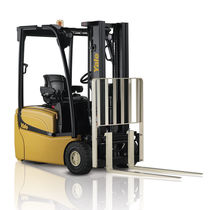 Electric forklift / ride-on / narrow-aisle / handling