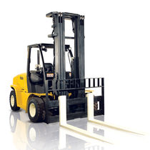 Diesel forklift / LPG / ride-on / for the construction industry