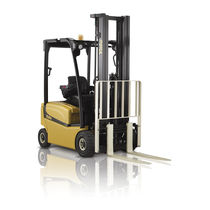 Electric forklift / ride-on / narrow-aisle / loading