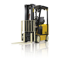 Electric forklift / ride-on / loading / 4-wheel