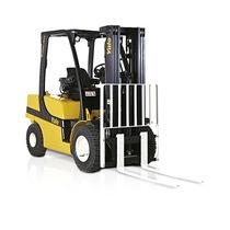 LPG forklift / diesel engine / ride-on / for warehouses