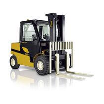 LPG forklift / diesel / ride-on / for warehouses