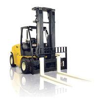 LPG forklift / diesel engine / ride-on / handling