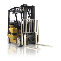 LPG forklift / ride-on / for warehouses / handling