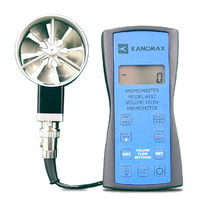 Humidity meter anemometer / vane / portable