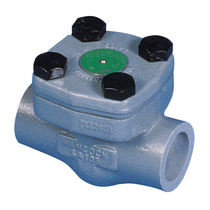 Spring check valve / lift / weld / for water