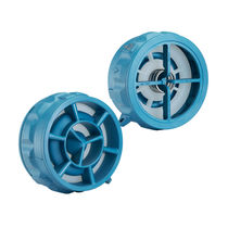 Axial check valve / disc / wafer / for water