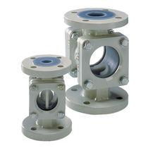 Ball check valve / flange / for gas / for liquids