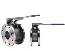 Ball valve / lever / shut-off / wafer