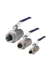 Ball valve / lever / shut-off / brass