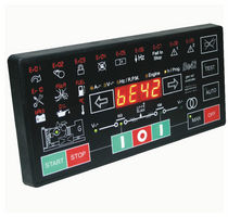 Automatic control panel for generator sets