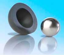 Rubber ball / with steel core