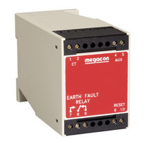 Earth-leakage monitoring relay / DIN rail / AC