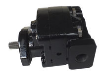 Gear pump / for fluids / hydraulic / outlet