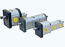 Gear pump / control / hydraulic / for fluids