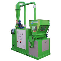 Aluminum recycling unit / cable / metal / high-throughput