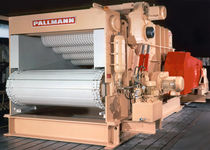 Hammer mill / horizontal / for wood / waste