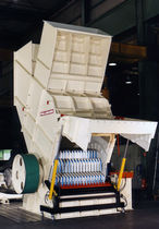 Hammer mill / impact / vertical / for wood