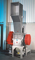 Knife mill / vertical / for rubber / fine cutting