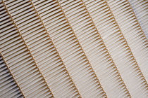Air filter / panel / pleated / rugged