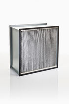 Air filter / panel / pleated / industrial