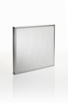 Air filter / panel / high-efficiency / high-efficiency