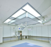 Horizontal air handling unit / for clean rooms / single-flow / modular