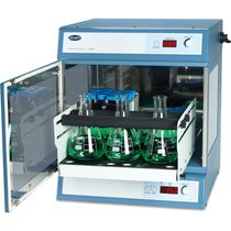 Laboratory shaker incubator / forced convection / digital / compact