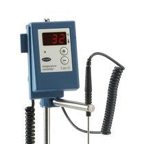 LED temperature regulator / digital / programmable / for magnetic hot plate stirrers