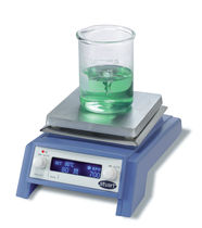 Magnetic stirrer / horizontal / digital / hot plate