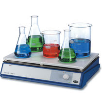 Laboratory hot plate / analog / ceramic / metal